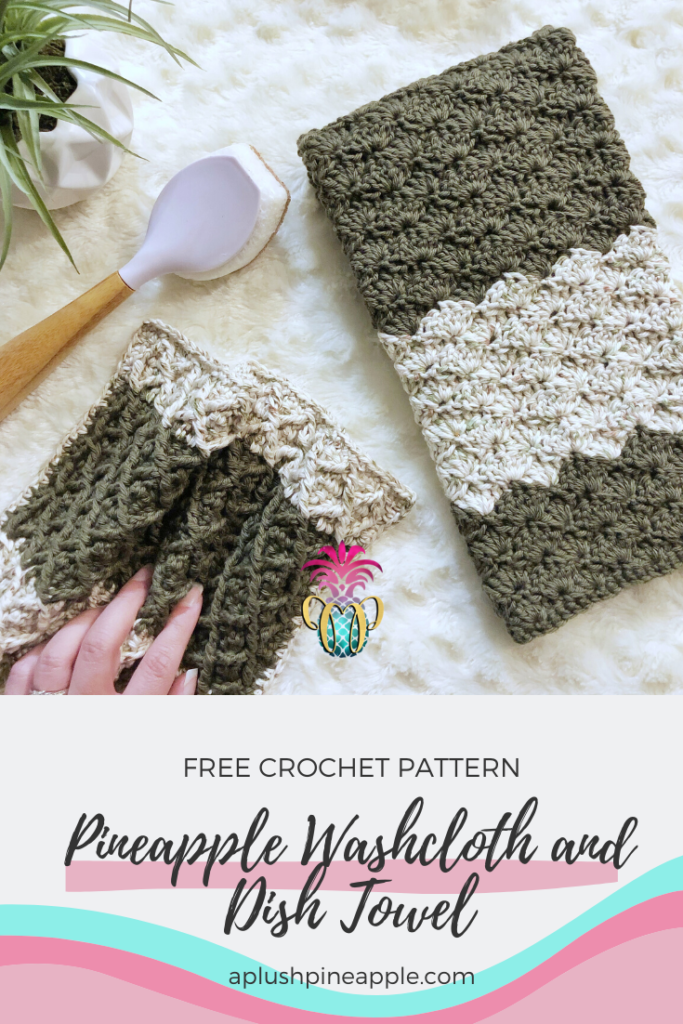 Make A Crochet Washcloth And Dish Towel For Your Kitchen